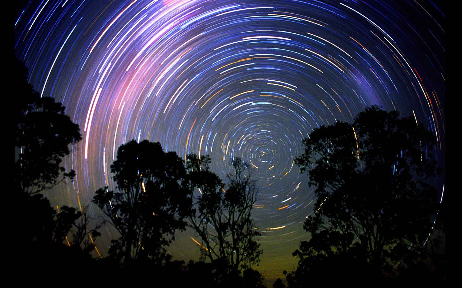 Star Trails. Mount Moffatt National Park
